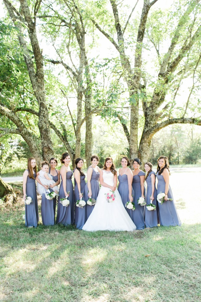 purple bridesmaids | Amy Nicole Photography | Glamour & Grace