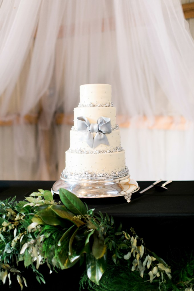 silver cake | Amy Nicole Photography | Glamour & Grace