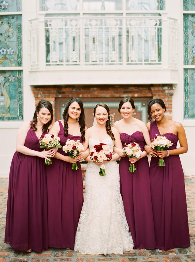 elegant marsala and gold wedding | Best Photography | Glamour & Grace