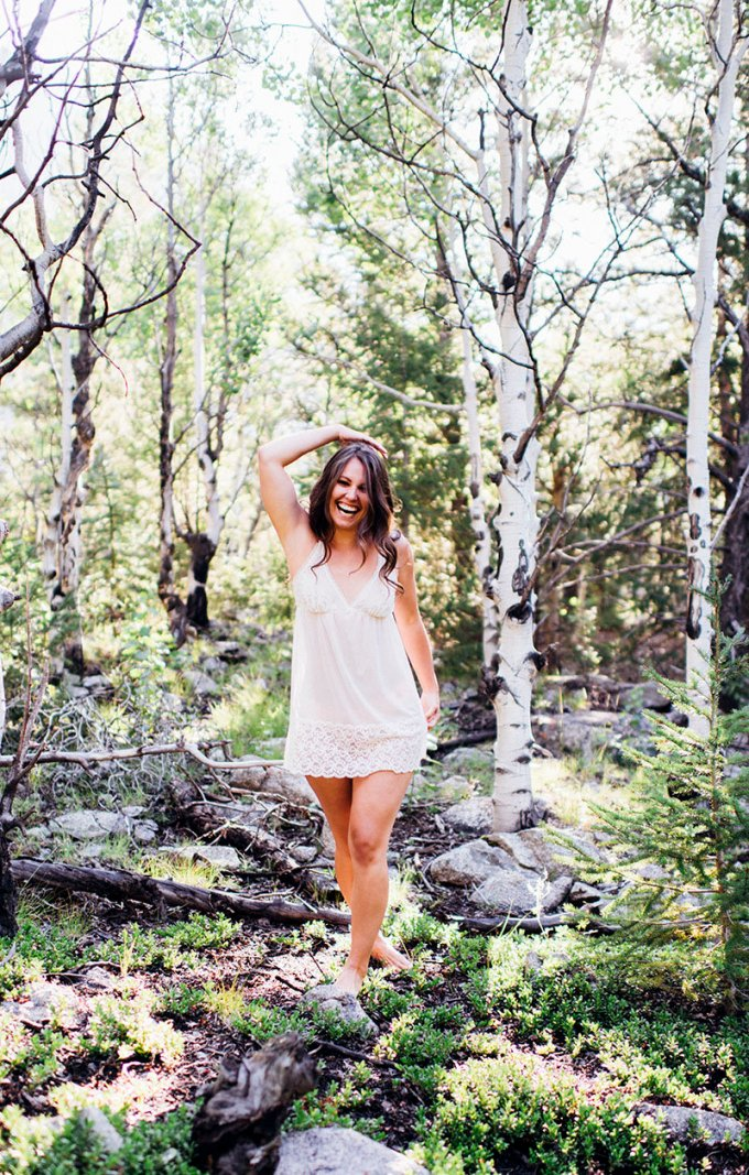 forest boudoir | Remnant Photography | Glamour & Grace