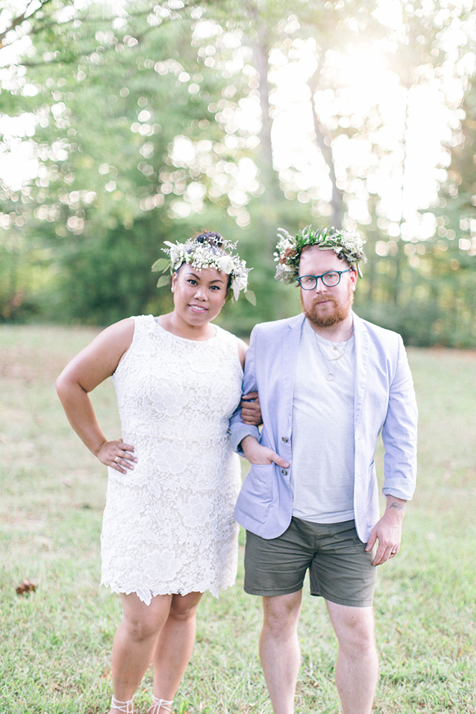 flower crown bachelorette party | Nikki Santerre | Glamour & Grace