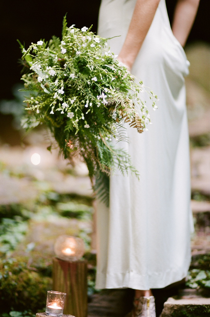 fern bouquet | White Rabbit Studios | Glamour & Grace