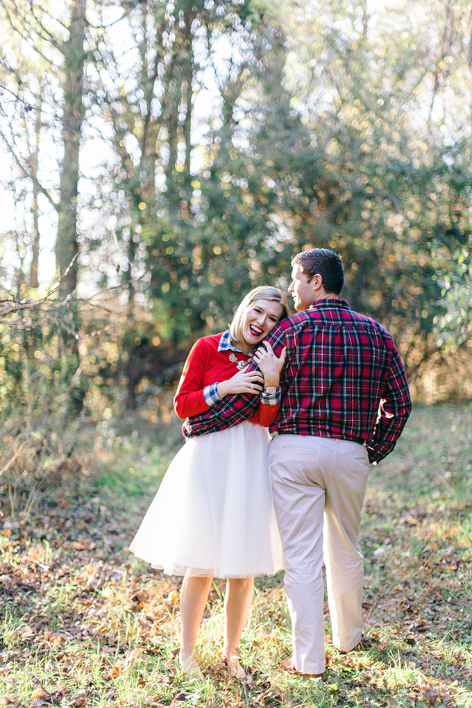 Christmas engagement session | Nikki Santerre Photography | Glamour & Grace