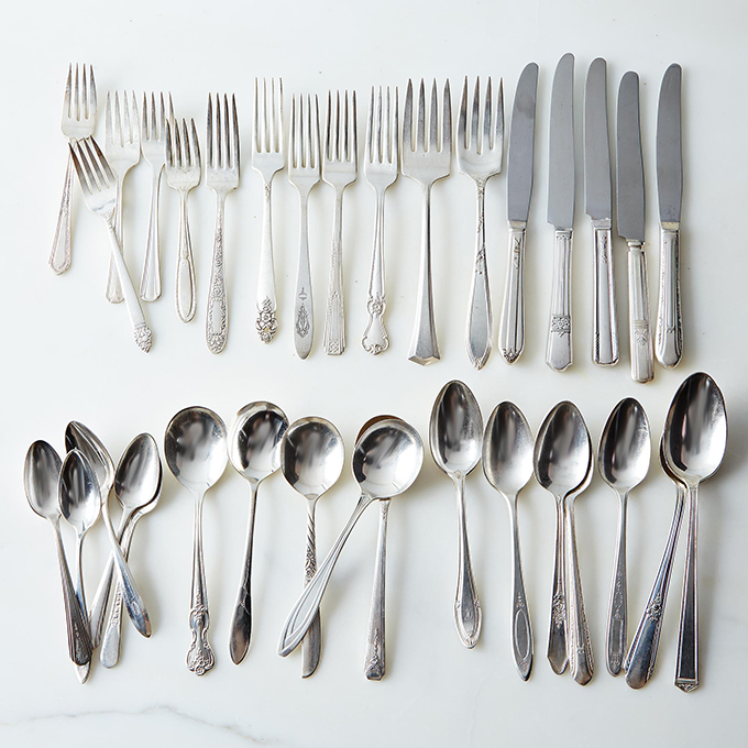 vintage silverware | Food52 | Glamour & Grace