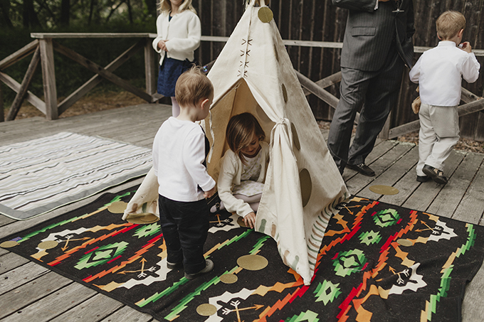kids play area | Heather Elizabeth Photography | Glamour & Grace
