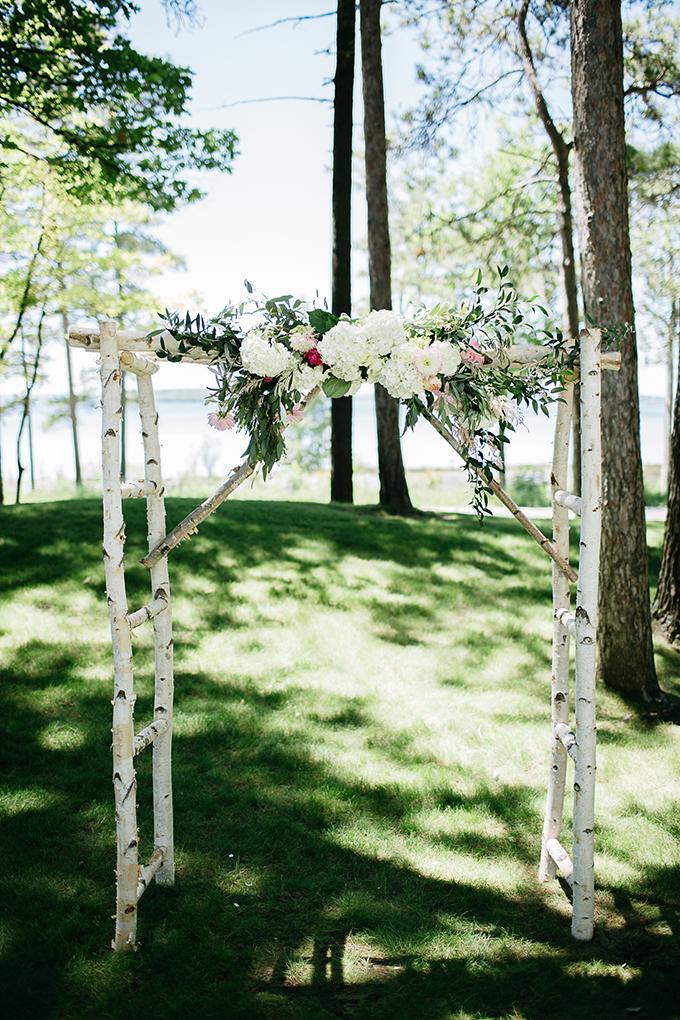 ceremony arch | Dan Stewart Photography | Glamour & Grace