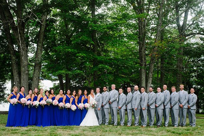 rustic backyard wedding | Bethany and Dan Photography | Glamour & Grace