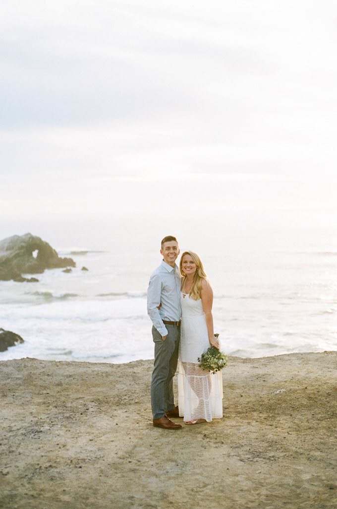 coastal engagement session | Olivia Richards | Glamour & Grace