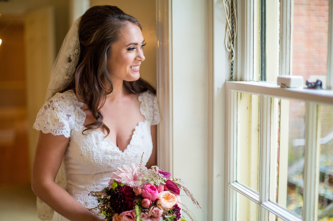 floral filled fall wedding | Tami & Ryan Photography | Glamour & Grace