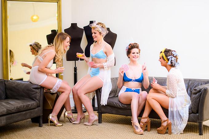 fun retro wedding inspiration | Alex Nardulli | Glamour & Grace