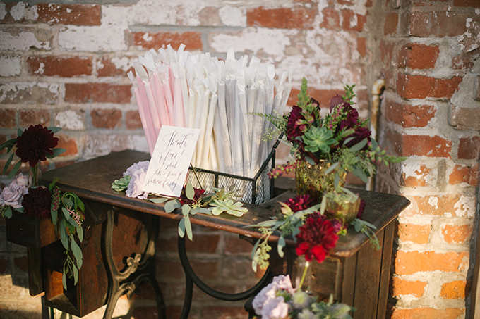 romantic fall wedding | Lauren Carroll Photography | Glamour & Grace