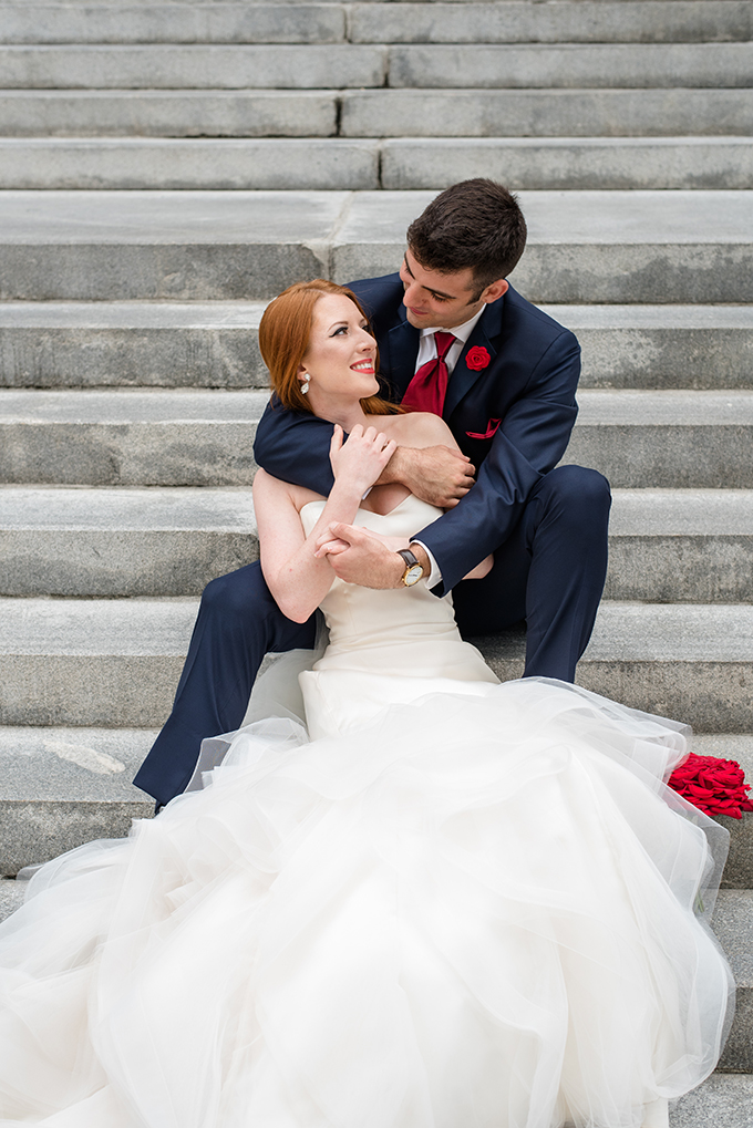 vintage glam Spider-Man wedding | Caroline & Evan Photography | Glamour & Grace