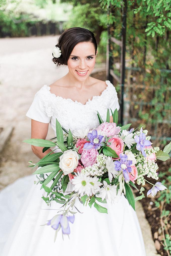 pastel bouquet | Joslyn Holtfort | Glamour & Grace