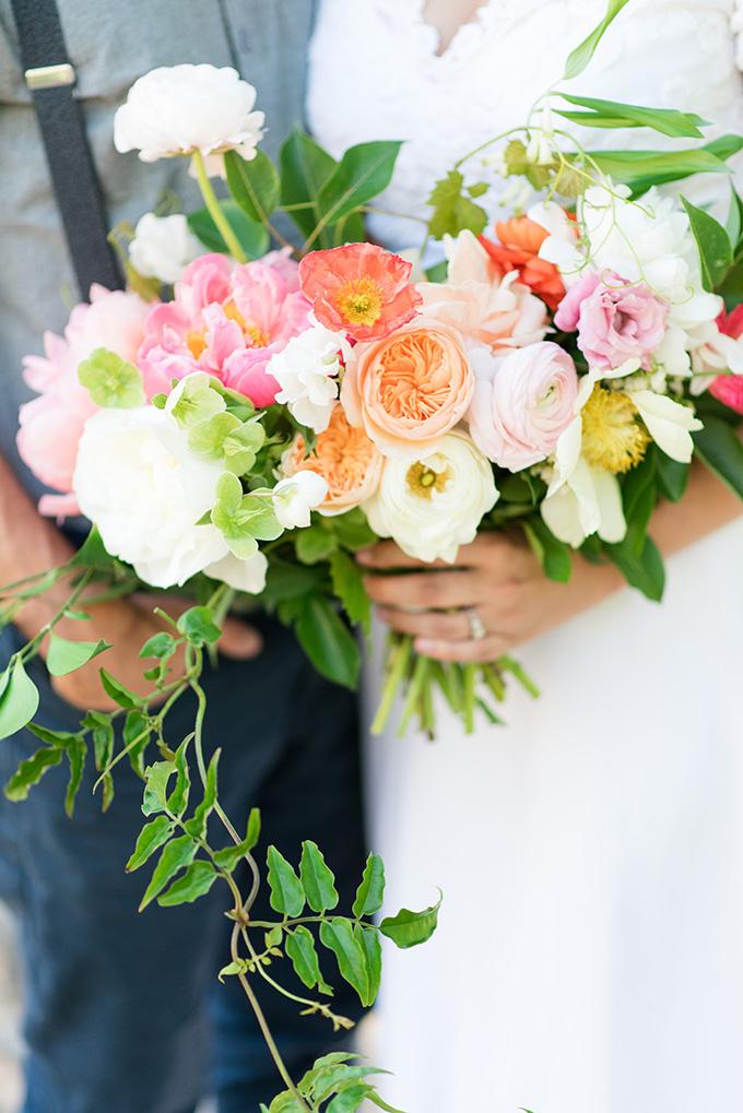 colorful bouquet   Lori Lynn Photography   Glamour & Grace