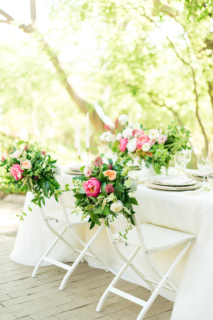 floral covered chairs   Lori Lynn Photography   Glamour & Grace