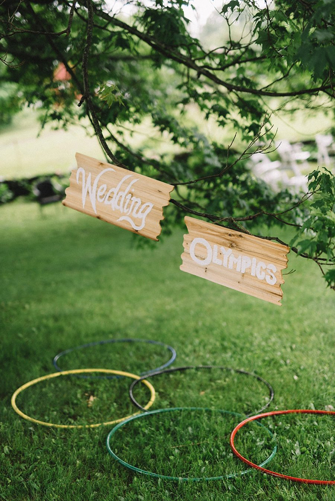 Olympics themed wedding | Lindsay Hackney | Glamour & Grace