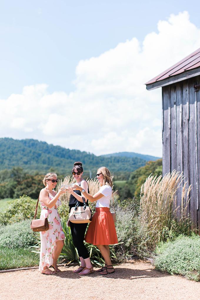 girl's glamping getaway   Nikki Santerre   Glamour & Grace