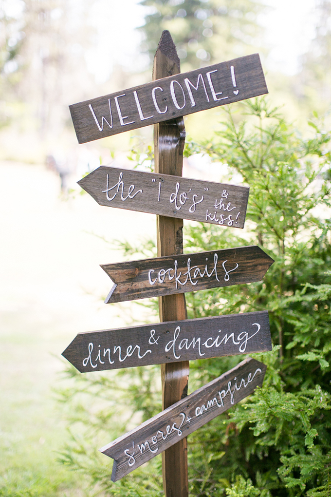 wedding signs | Anna Marks Photography | Glamour & Grace