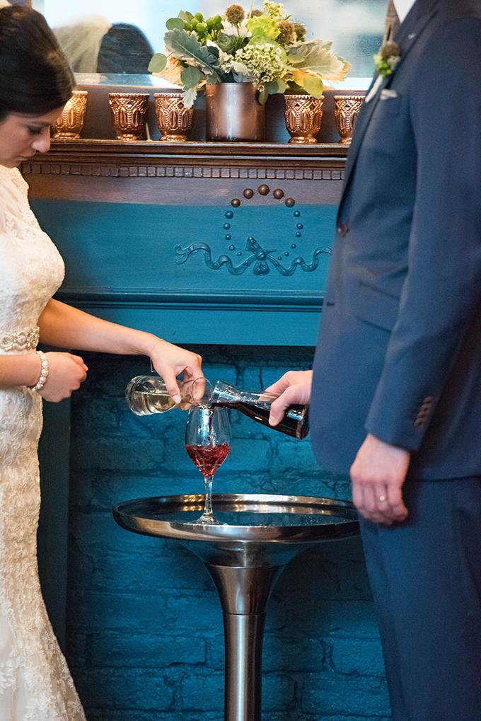 wine ceremony | Elizabeth Nord Photography | Glamour & Grace