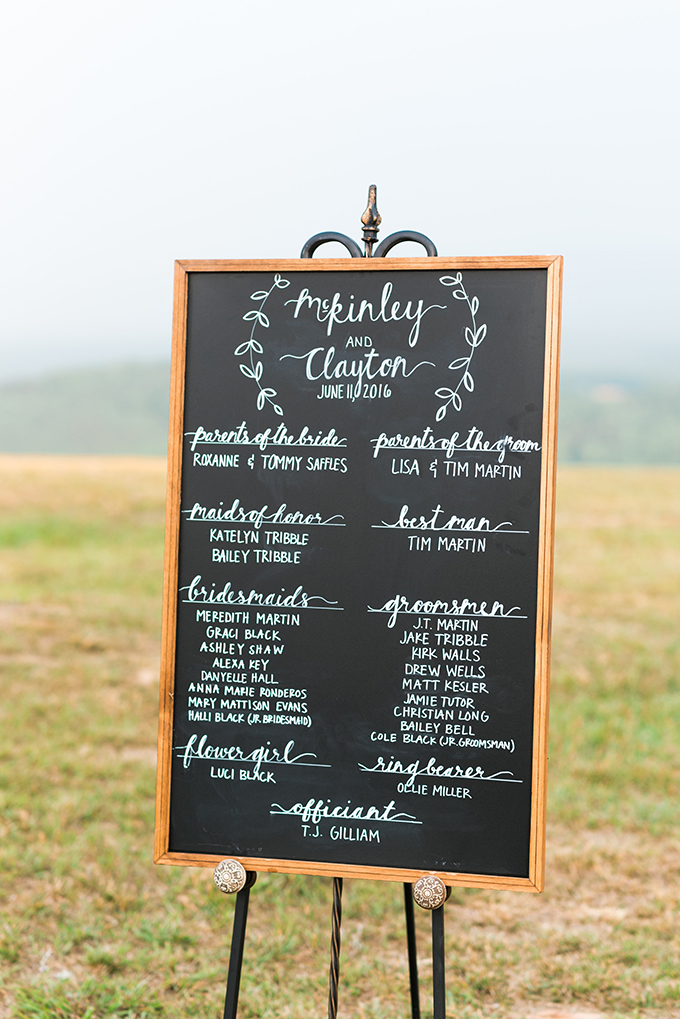 elegant cliffside Southern wedding | Cotton & Clover Photography | Glamour & Grace-19