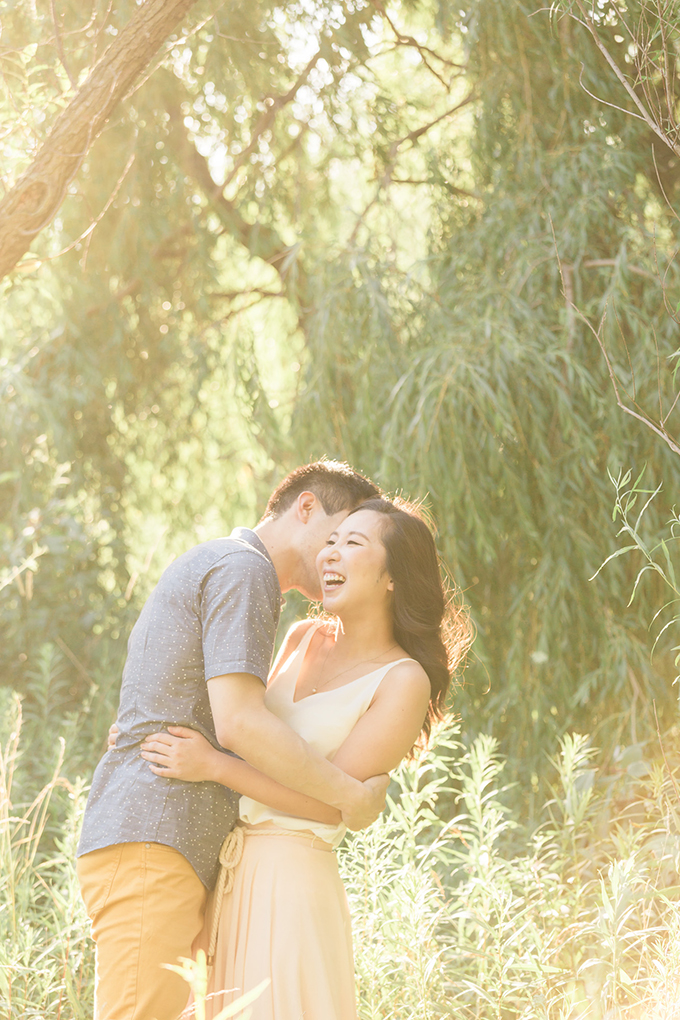whimsical sunset engagement session   Samantha Ong Photography   Glamour & Grace
