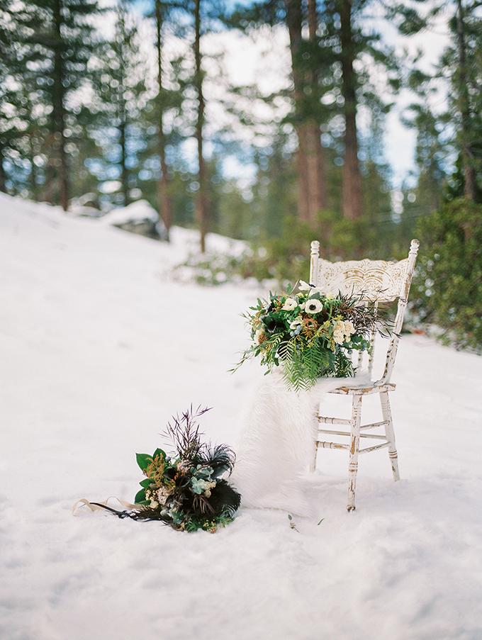 snowy winter bridal session | Jeremy Chou Photography | Glamour & Grace
