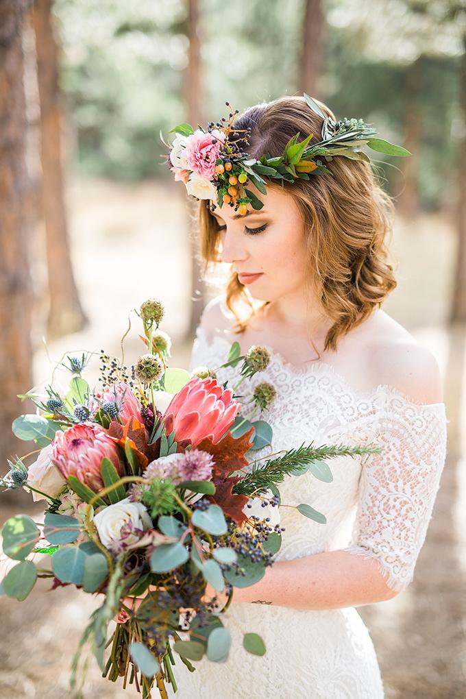dreamy mountain bridal session | Hazel & Lace Photography | Glamour & Grace-10