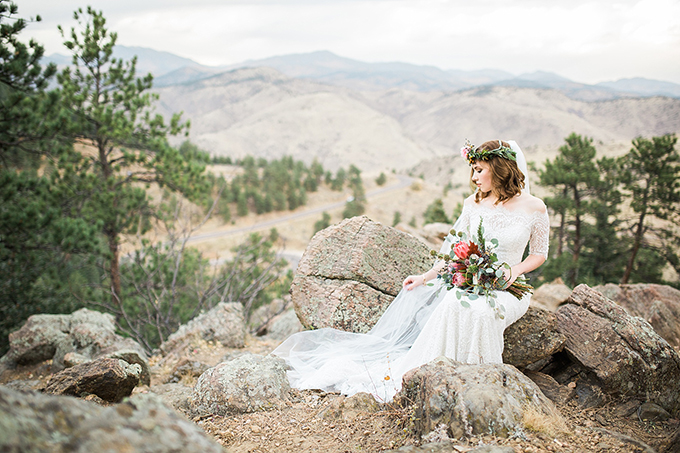 dreamy mountain bridal session | Hazel & Lace Photography | Glamour & Grace-15