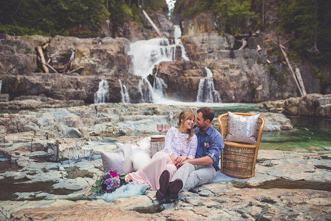 whimsical waterfall elopement | Chelsea Dawn Photography & Makeup Artistry | Glamour & Grace-08