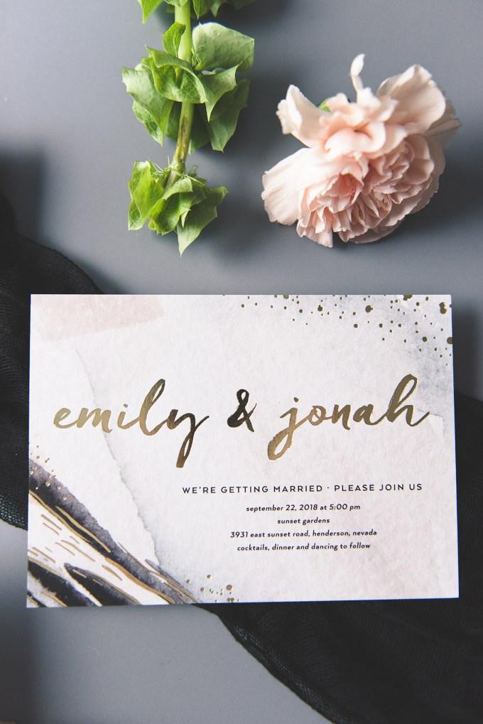 Wedding Paper Divas   wedding invitations   Glamour & Grace-08