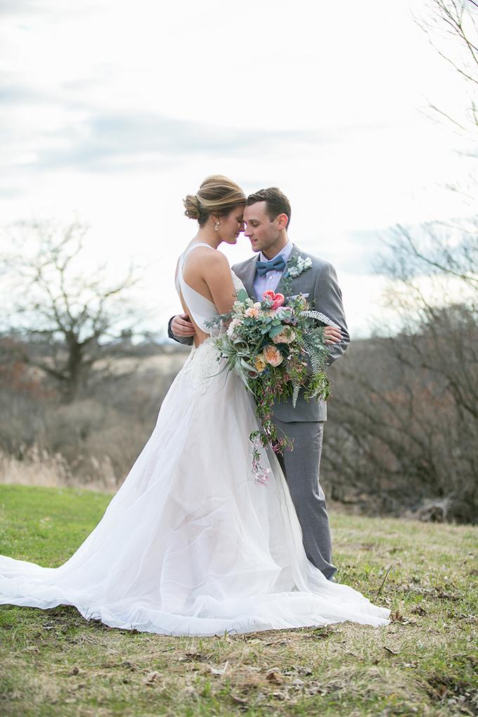 pastel farm wedding inspiration | Erin Johnson Photography | Glamour & Grace-18