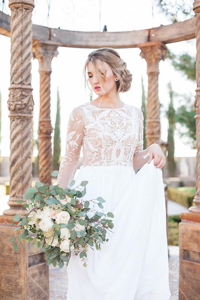 romantic garden wedding inspiration | April Maura Photography | Glamour & Grace-09