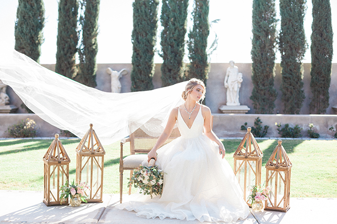 romantic garden wedding inspiration | April Maura Photography | Glamour & Grace-27