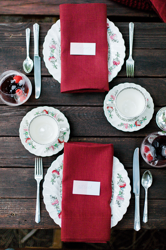 red heirloom wedding inspiration | Aura May Photography | Glamour & Grace-12