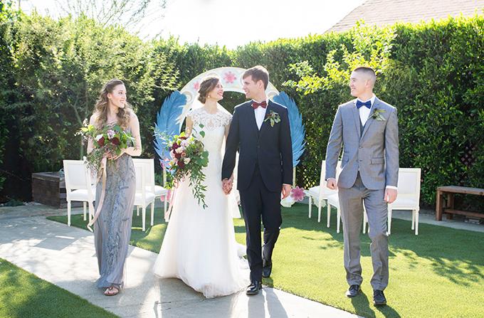 Art Nouveau wedding inspiration | Peterson Design & Photography | Glamour & Grace
