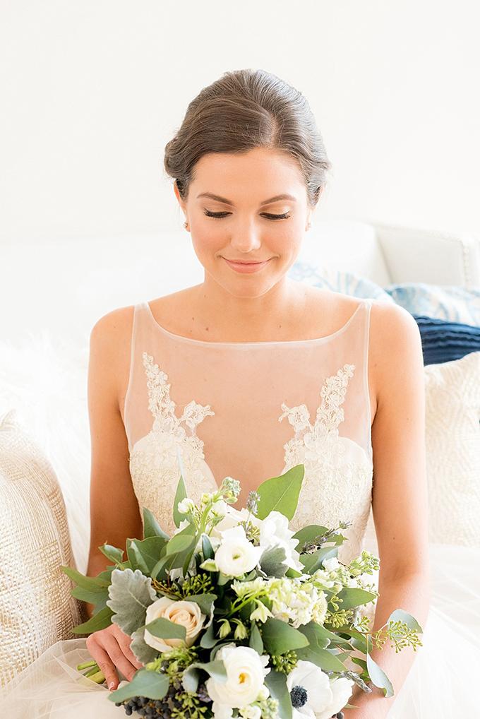 elegant blue and white wedding inspiration   Mikkel Paige Photography   Glamour & Grace-07