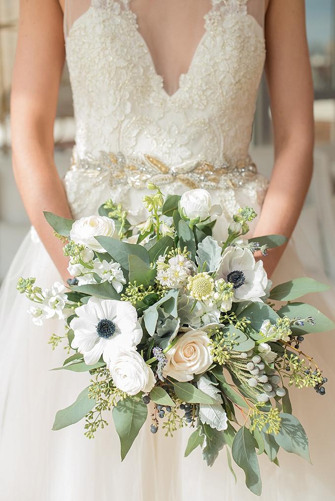 elegant blue and white wedding inspiration   Mikkel Paige Photography   Glamour & Grace-14