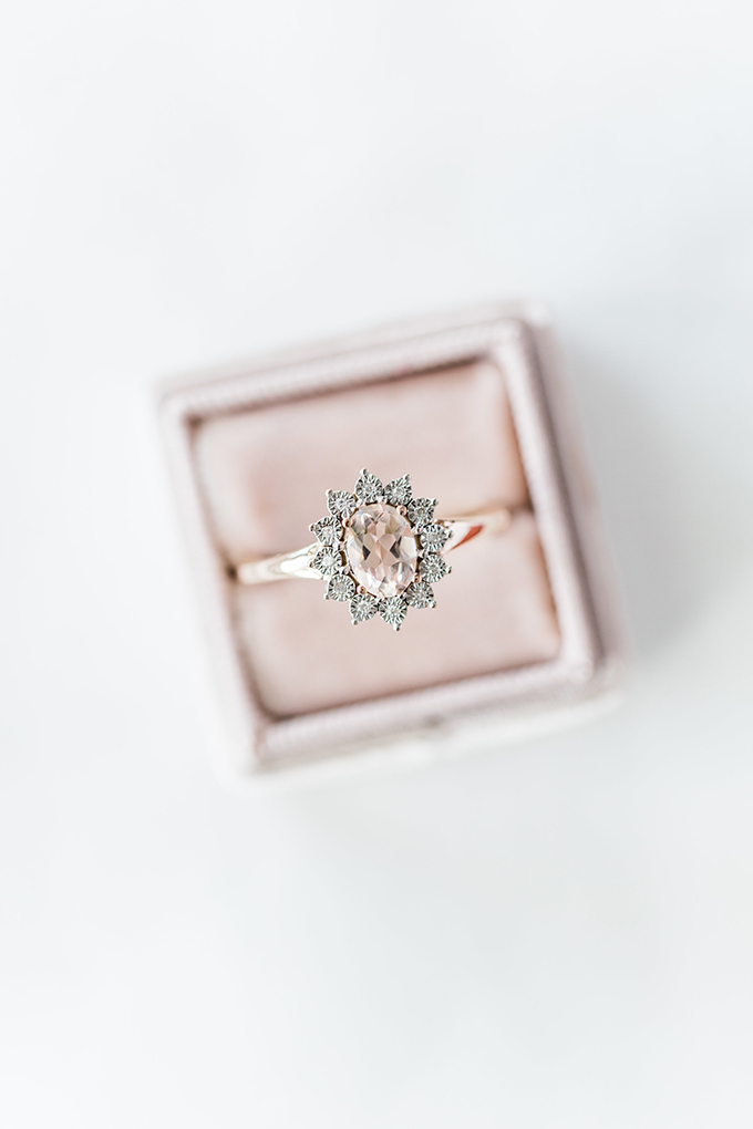 pink engagement ring | Megan Lee Photography | Glamour & Grace