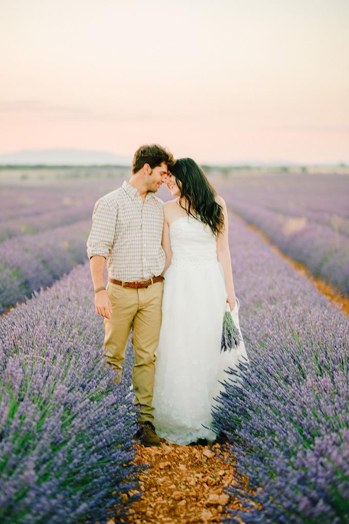 lavender anniversary session | Buenas Photos | Glamour & Grace