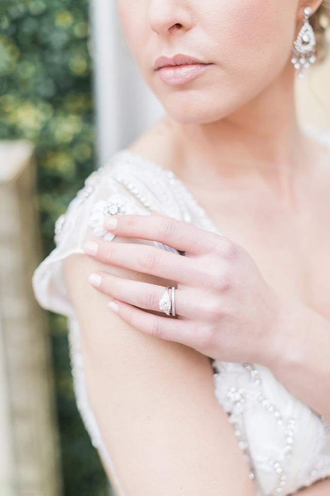 romantic loft bridal portraits   Tiffaney Childs Photography   Glamour & Grace