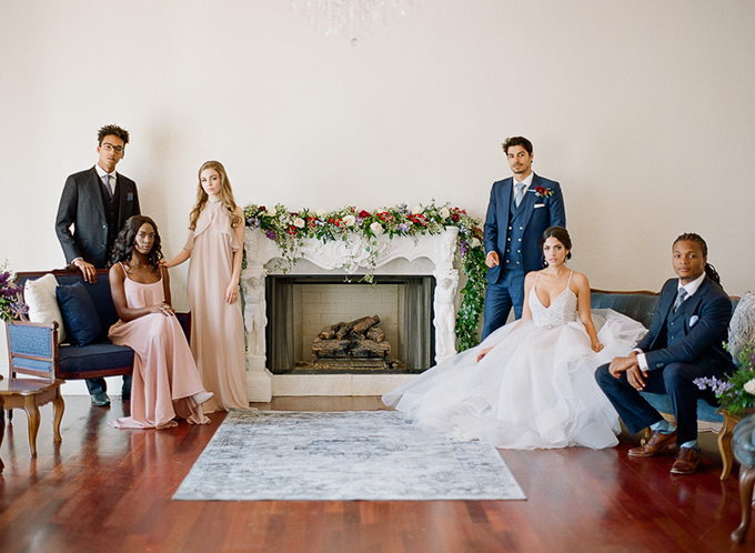 Hamilton wedding inspiration | The Ganeys | Glamour & Grace