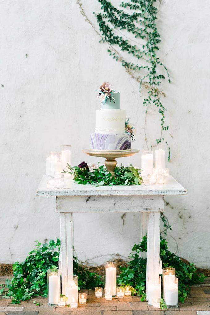 romantic geometric wedding inspiration | Treebird Photo | Glamour & Grace