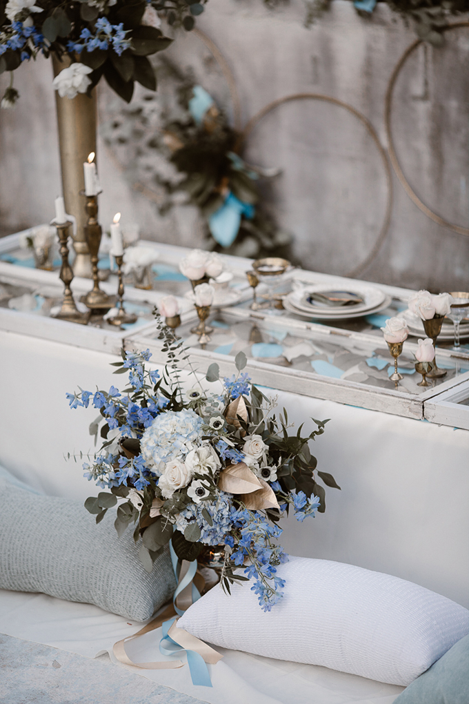romantic icy winter wedding inspiration | Erin Morrison Photography | Glamour & Grace