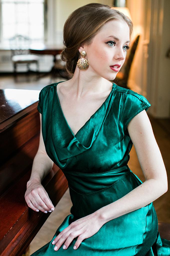 BHLDN #BridesmaidDress | Kara Powers Photography | Glamour & Grace