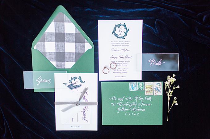 jewel tone #winterwedding | Magnolia Adams | Glamour & Grace