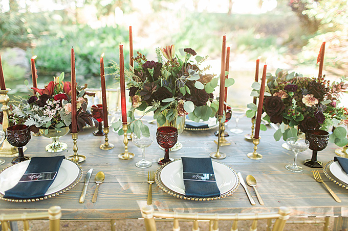jewel tone #winterwedding | Magnolia Adams | Glamour & Grace