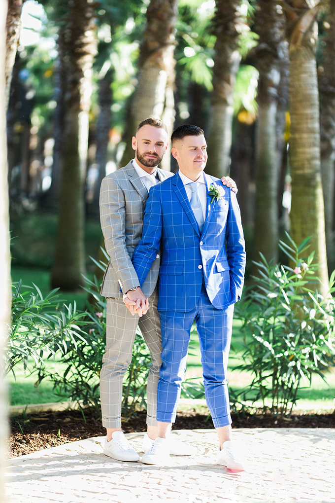 romantic same sex destination wedding | Passionate Wedding Photography | Glamour & Grace
