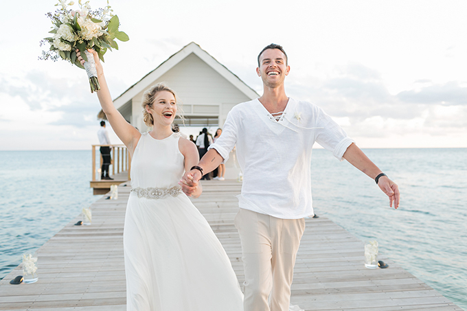 Sandals Weddings | Alexis June Weddings | Glamour & Grace