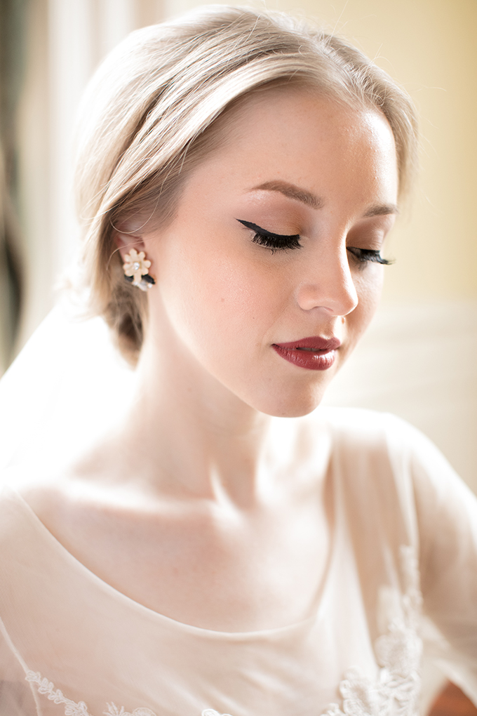 bridal jewelry from 7 Charming Sisters | Kara Powers Photography | Glamour & Grace
