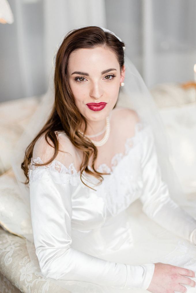 darling vintage wedding inspiration | Tiffany Loera Photography | Glamour & Grace